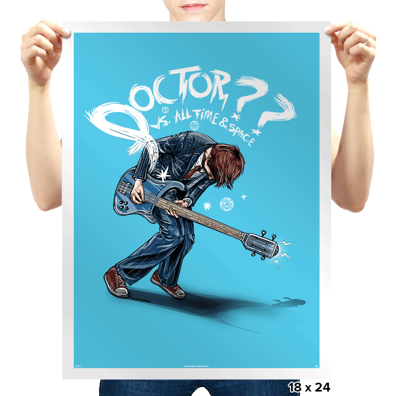 Doctor?? - Prints - Posters - RIPT Apparel