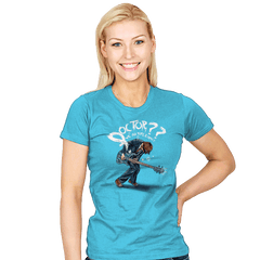 Doctor?? - Womens - T-Shirts - RIPT Apparel