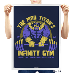 Infinity Gym - Prints - Posters - RIPT Apparel