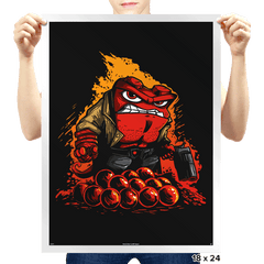 Angryboy - Prints - Posters - RIPT Apparel