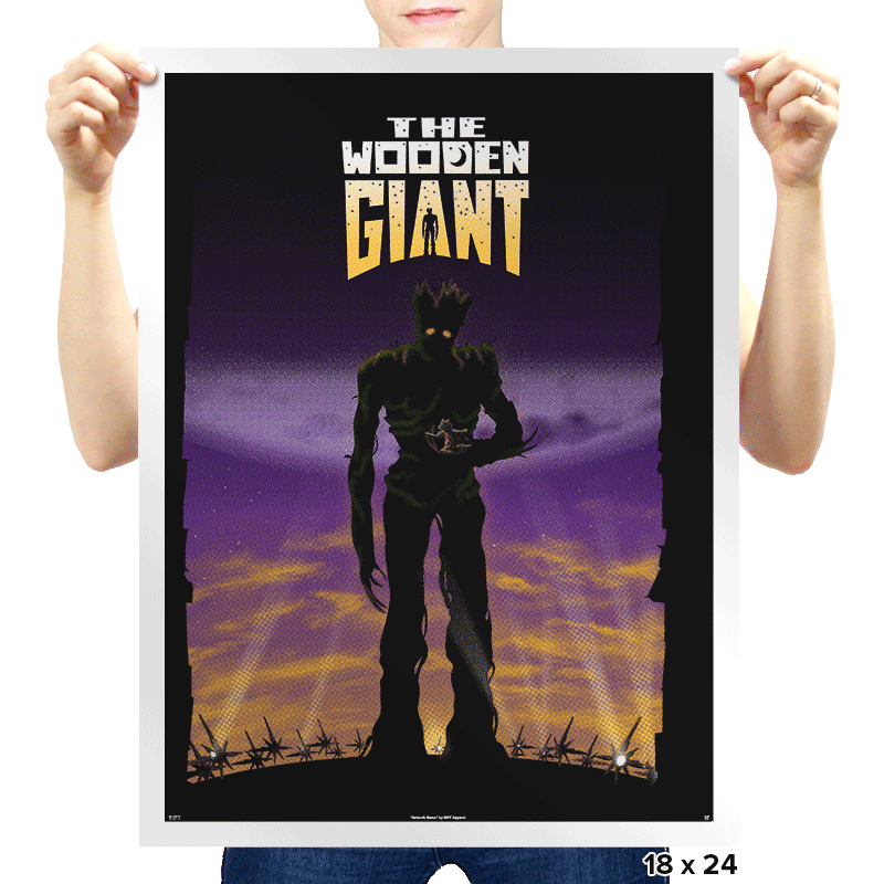 The Wooden Giant - Prints - Posters - RIPT Apparel