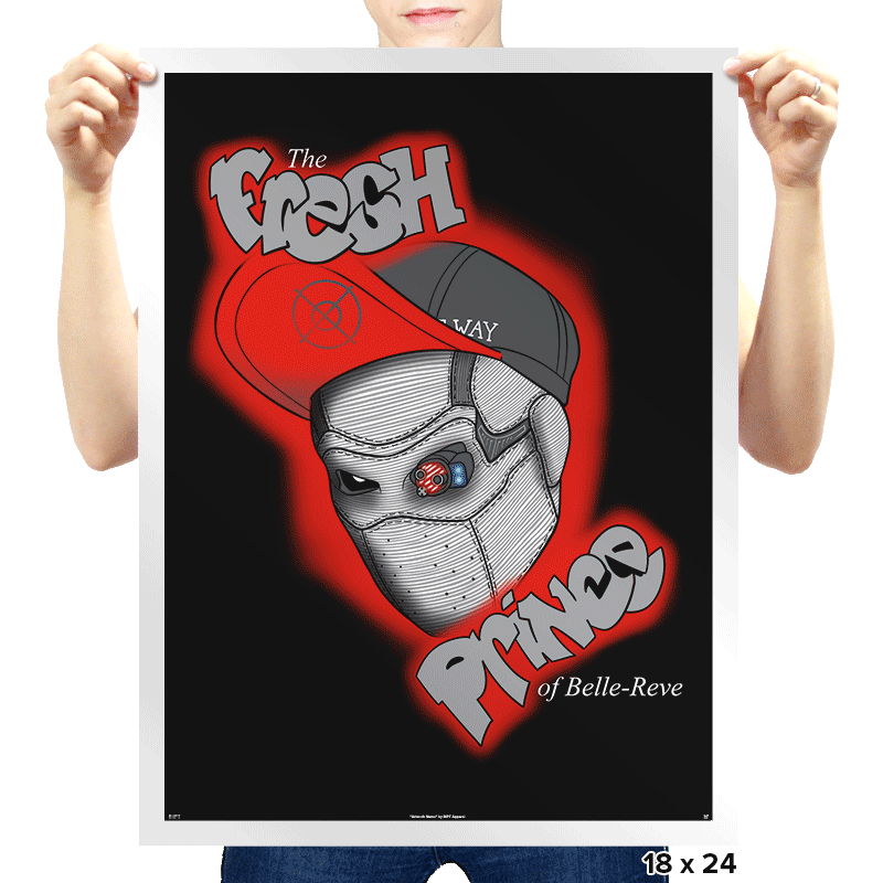 The Fresh Prince of Belle Rev - Prints - Posters - RIPT Apparel