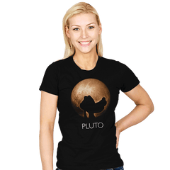 Dwarf Planet - Womens - T-Shirts - RIPT Apparel
