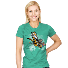 Jasmine and Rajah - Womens - T-Shirts - RIPT Apparel