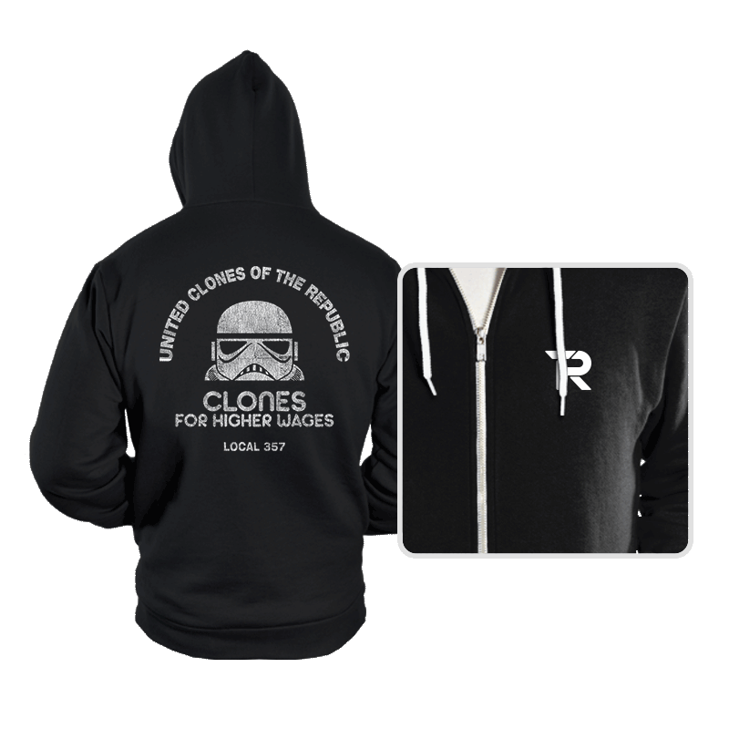 United Clones - Hoodies - Hoodies - RIPT Apparel