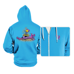 Furry Flea Bitten Fool - Hoodies - Hoodies - RIPT Apparel