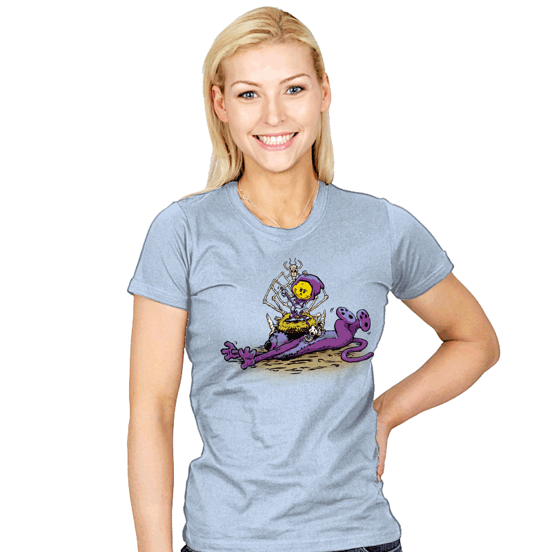 Furry Flea Bitten Fool - Womens - T-Shirts - RIPT Apparel