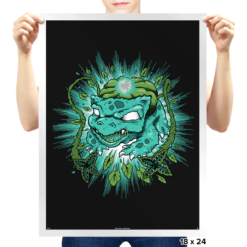 Bulb Attack - Prints - Posters - RIPT Apparel