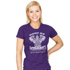 Body By Brain - Womens - T-Shirts - RIPT Apparel