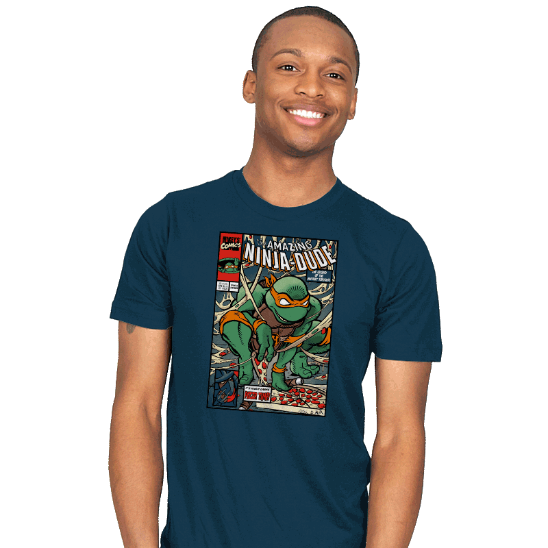 The Amazing Ninja-Dude - Mens - T-Shirts - RIPT Apparel
