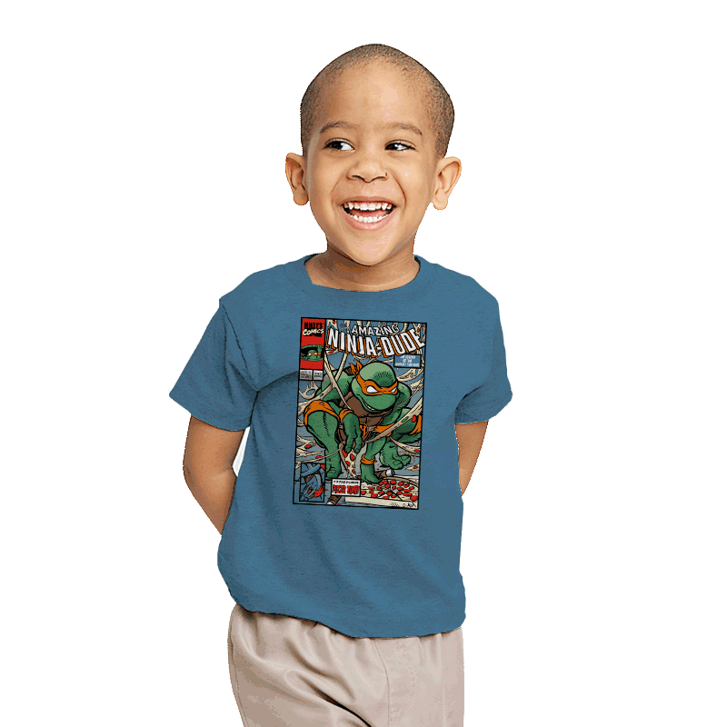The Amazing Ninja-Dude - Youth - T-Shirts - RIPT Apparel