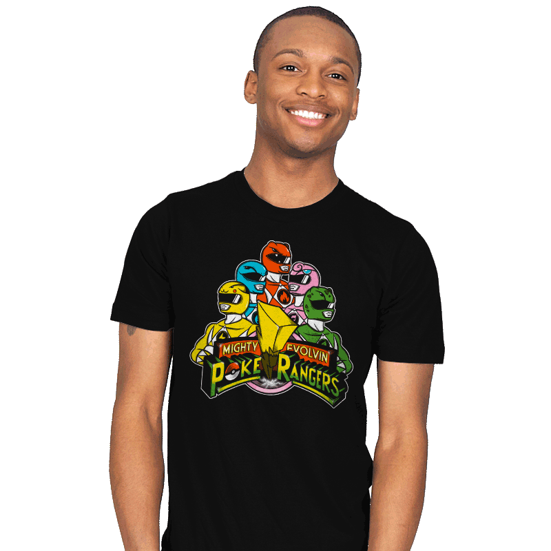 Poke Rangers - Mens - T-Shirts - RIPT Apparel