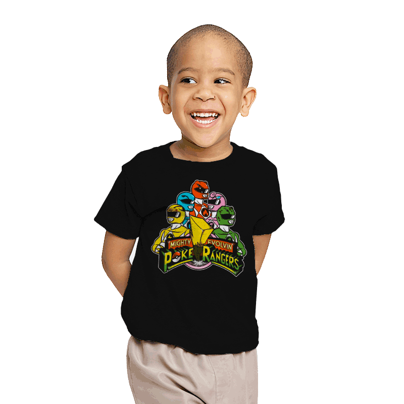 Poke Rangers - Youth - T-Shirts - RIPT Apparel