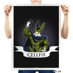Cellfie - Prints - Posters - RIPT Apparel