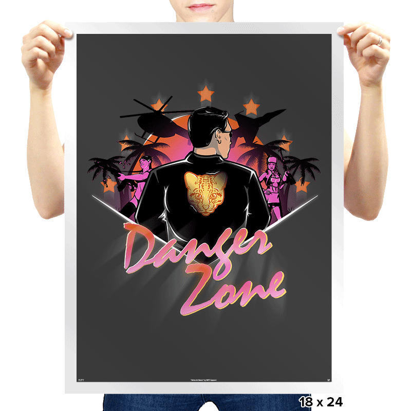 Drive to the Danger Zone - Prints - Posters - RIPT Apparel
