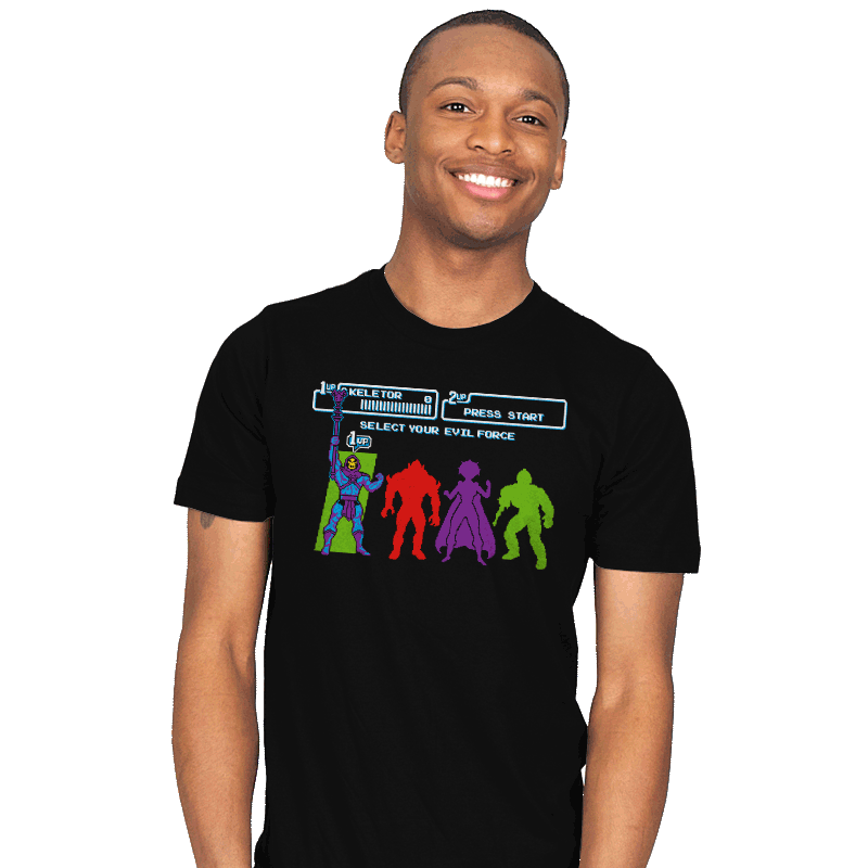 Select Your Evil Force - Mens - T-Shirts - RIPT Apparel