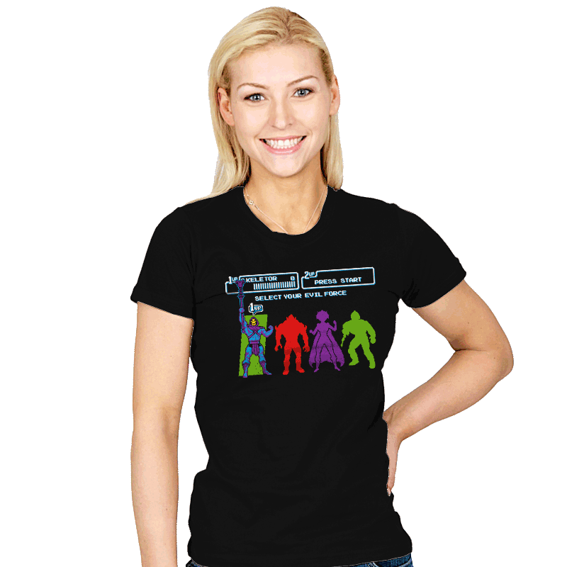 Select Your Evil Force - Womens - T-Shirts - RIPT Apparel