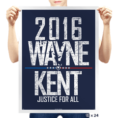 Justice For All - Prints - Posters - RIPT Apparel