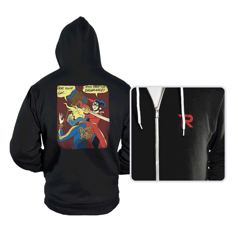Not My Harley - Hoodies - Hoodies - RIPT Apparel