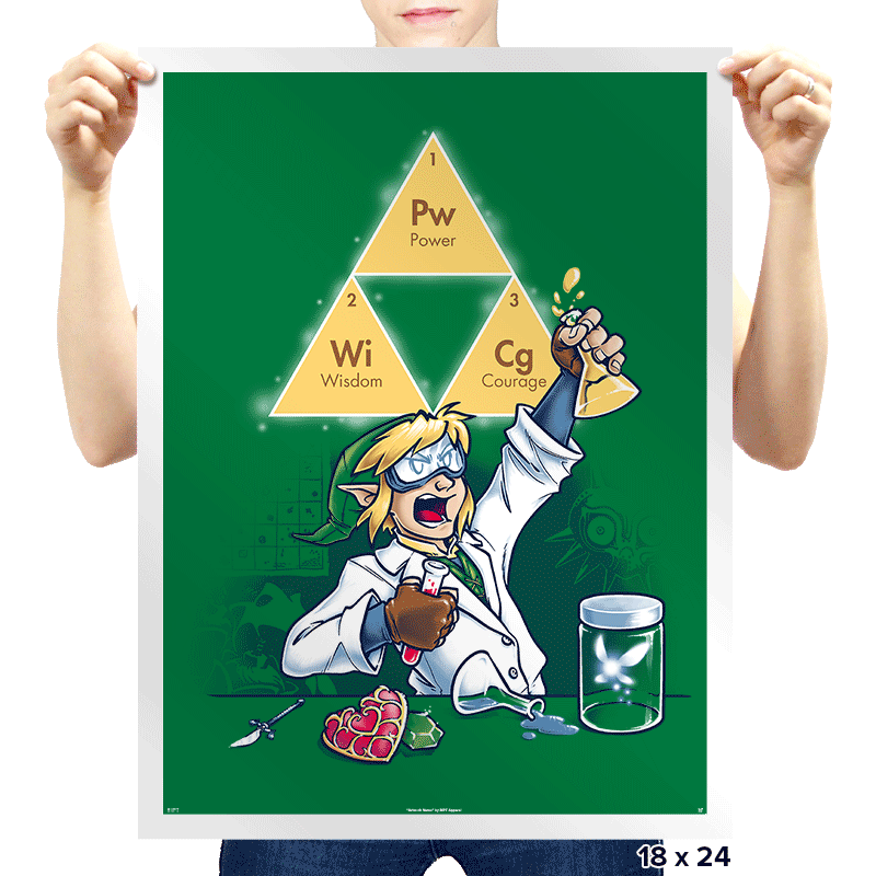 Hyrulean Science! - Prints - Posters - RIPT Apparel