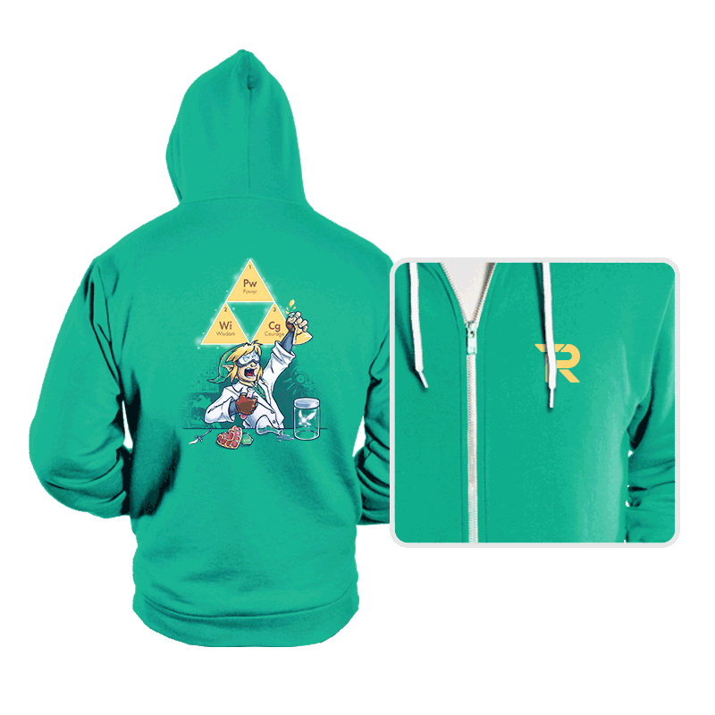 Hyrulean Science! - Hoodies - Hoodies - RIPT Apparel