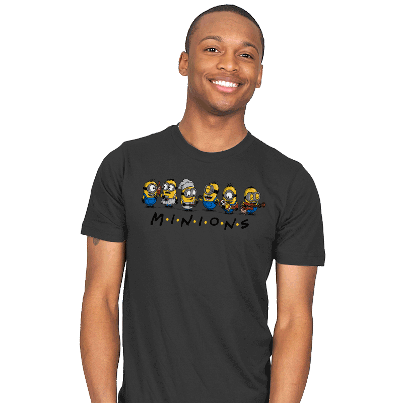 The One with Minions - Mens - T-Shirts - RIPT Apparel