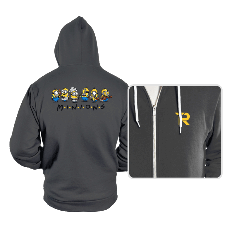 The One with Minions - Hoodies - Hoodies - RIPT Apparel