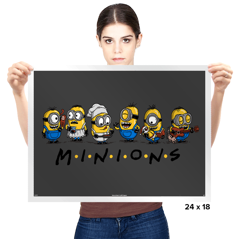 The One with Minions - Prints - Posters - RIPT Apparel