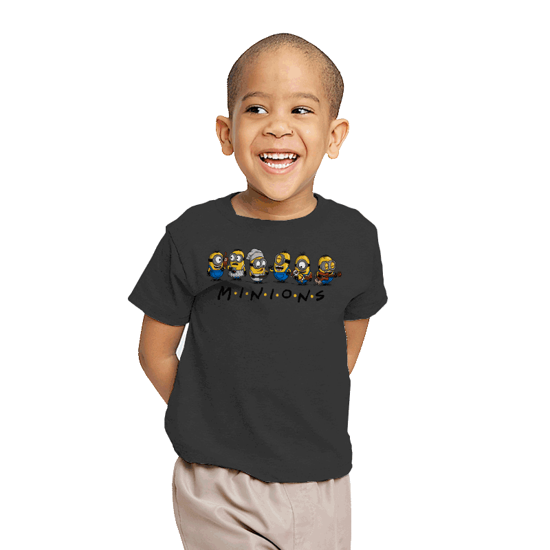 The One with Minions - Youth - T-Shirts - RIPT Apparel