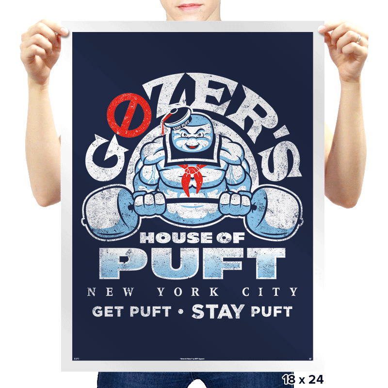 House of Puft - Prints - Posters - RIPT Apparel