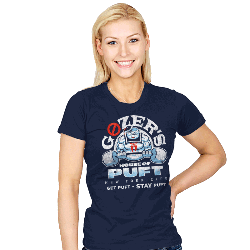 House of Puft - Womens - T-Shirts - RIPT Apparel