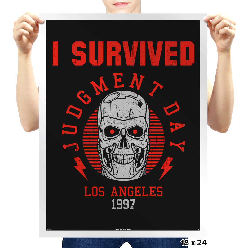I'll Be Back! - Prints - Posters - RIPT Apparel