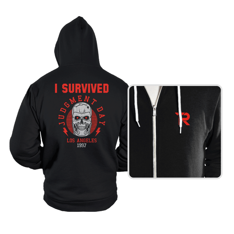 I'll Be Back! - Hoodies - Hoodies - RIPT Apparel