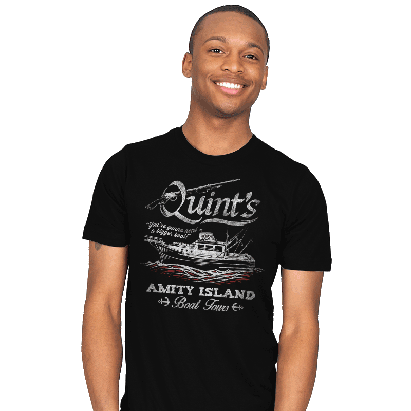 Quint's Boat Tours - Mens - T-Shirts - RIPT Apparel