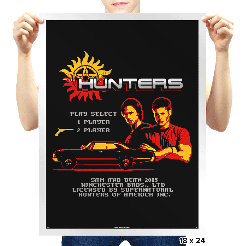 Hunters the Video Game - Prints - Posters - RIPT Apparel
