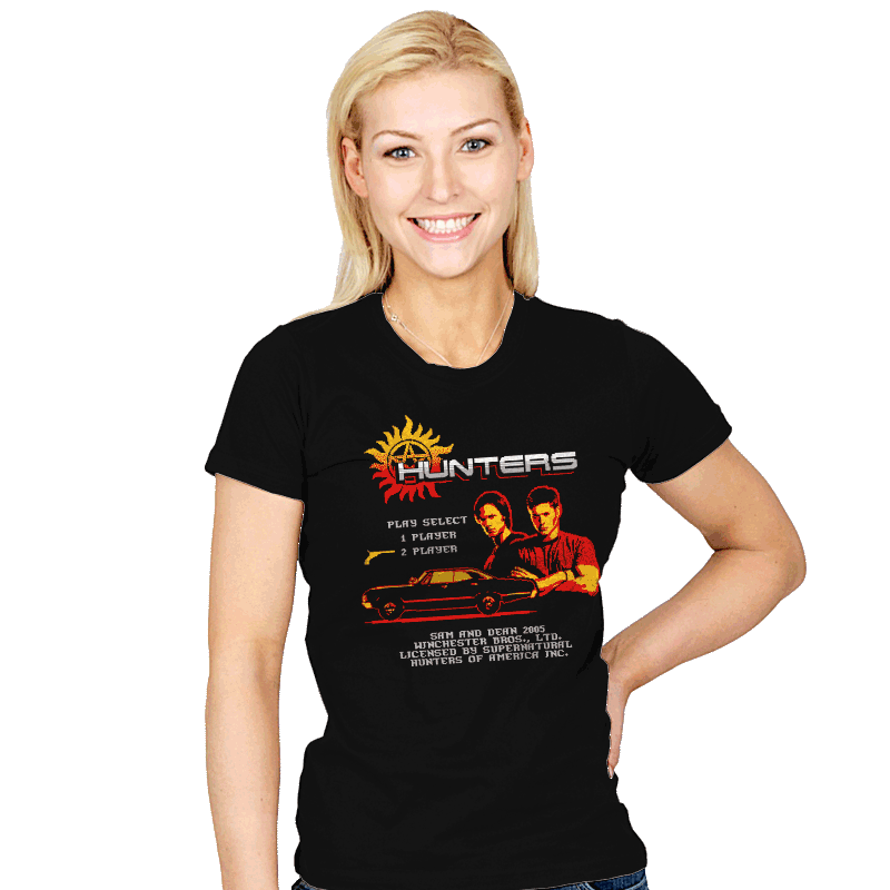 Hunters the Video Game - Womens - T-Shirts - RIPT Apparel