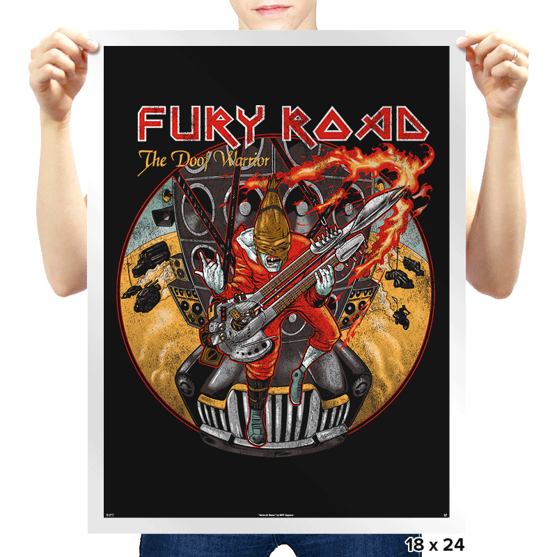 Fury Maiden: The Doofer Exclusive - Prints - Posters - RIPT Apparel