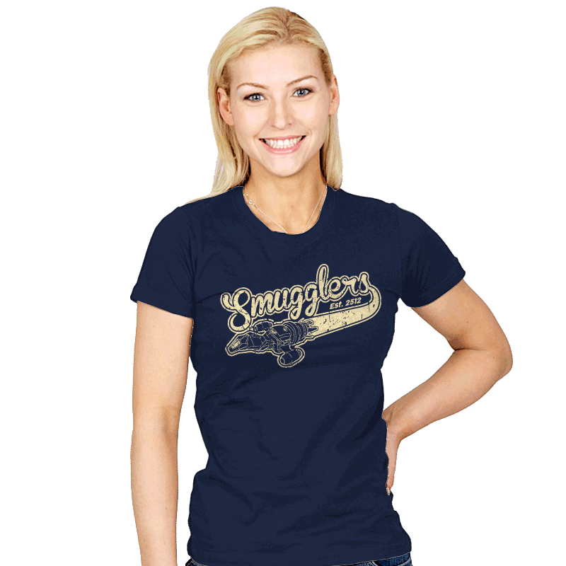 Smugglers - Womens - T-Shirts - RIPT Apparel