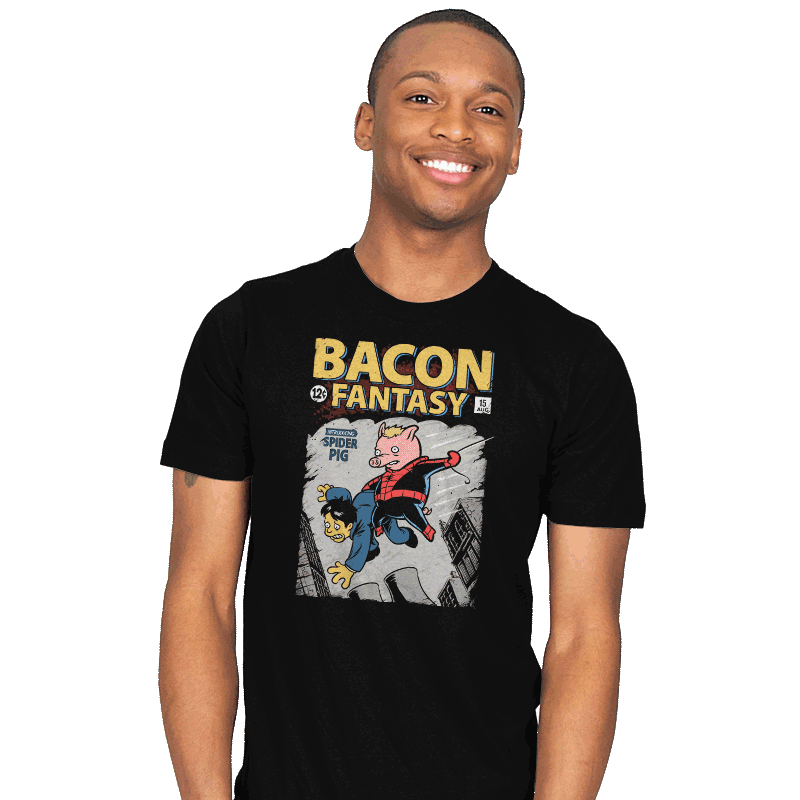 Bacon Fantasy #15 - Mens - T-Shirts - RIPT Apparel