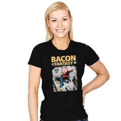 Bacon Fantasy #15 - Womens - T-Shirts - RIPT Apparel