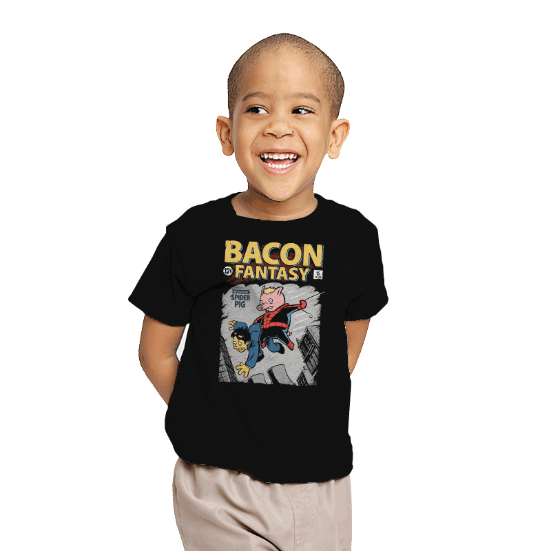 Bacon Fantasy #15 - Youth - T-Shirts - RIPT Apparel