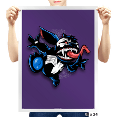 Symbiote 626 - Prints - Posters - RIPT Apparel