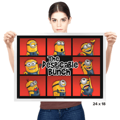 DESPICABLE BUNCH - Prints - Posters - RIPT Apparel