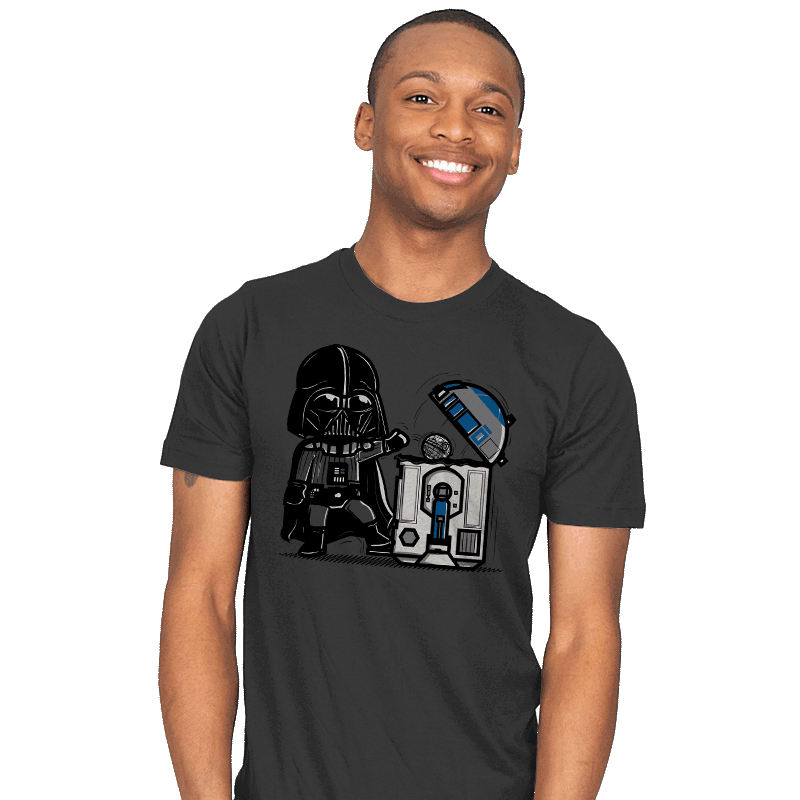 Robotic Trashcan - Mens - T-Shirts - RIPT Apparel