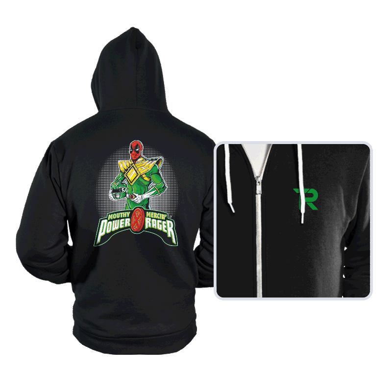 Green Power Rager - Hoodies - Hoodies - RIPT Apparel