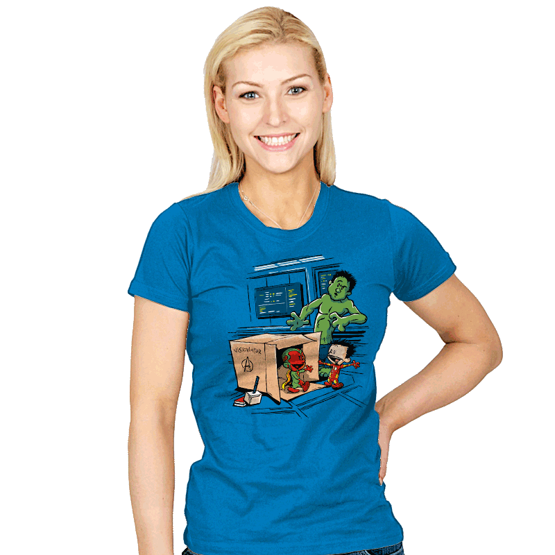 Scientific Bro-gress Goes Boink - Womens - T-Shirts - RIPT Apparel