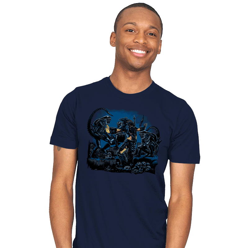 Alien Squad - Mens - T-Shirts - RIPT Apparel