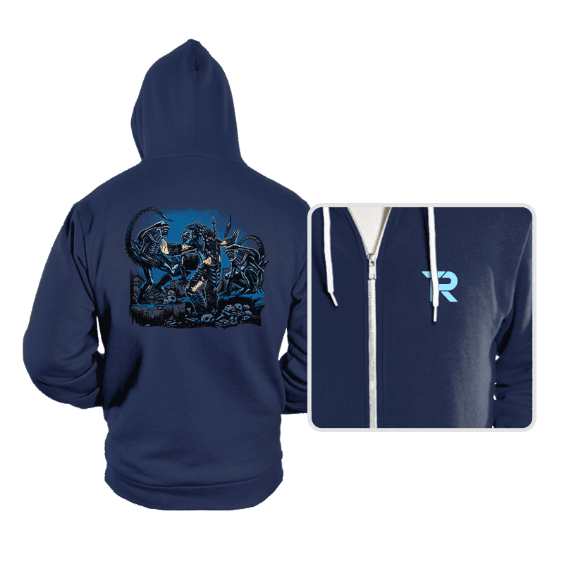 Alien Squad - Hoodies - Hoodies - RIPT Apparel