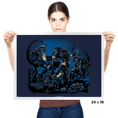 Alien Squad - Prints - Posters - RIPT Apparel