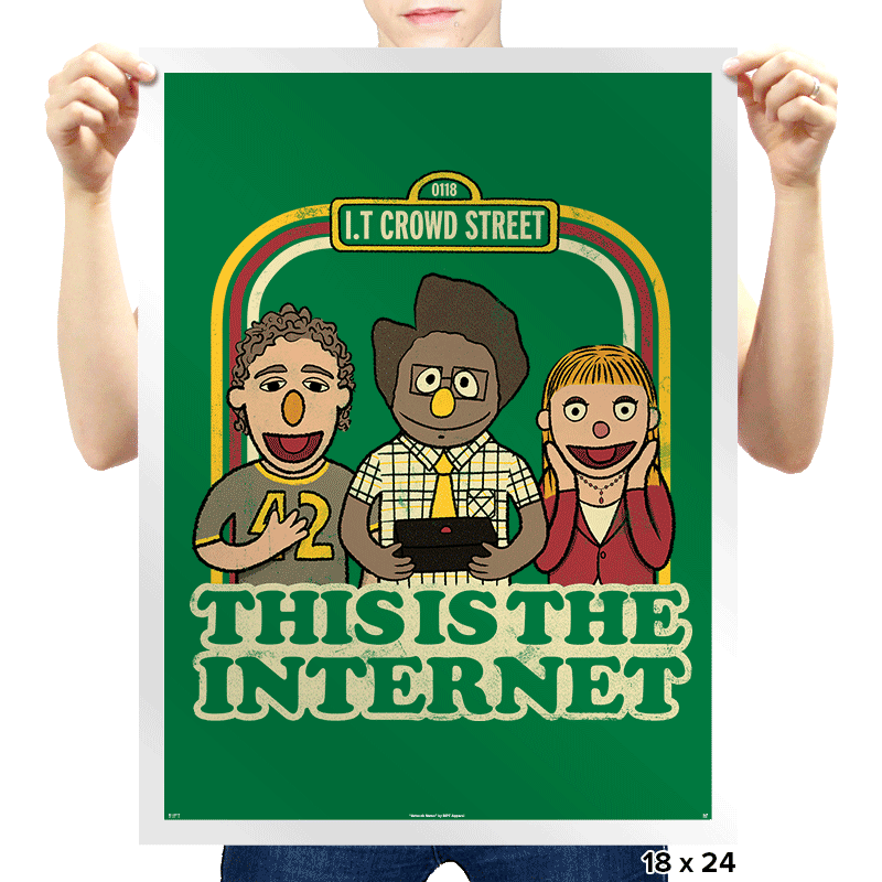 This is the internet - Prints - Posters - RIPT Apparel